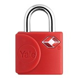 YALE Travel Lock [YTP4/25/111/2R] - Red - Gembok Kombinasi